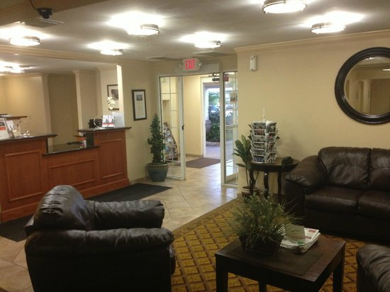 Candlewood Suites Galveston : Lobby
