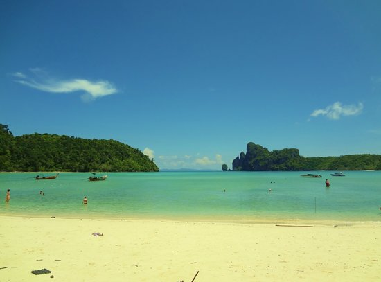 Phi Phi Inn: The beach!!