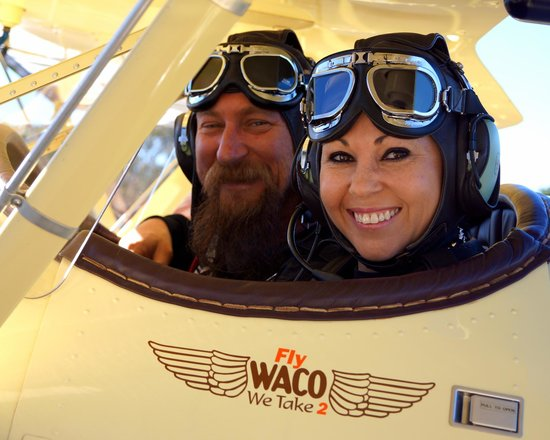 FlyWaco: Hope you had a great flight to celebrate your 40th love from Ania