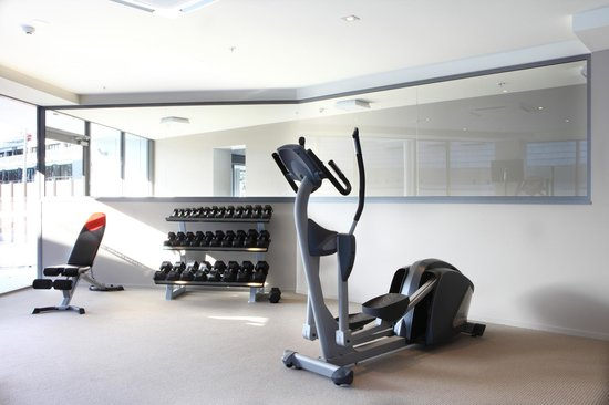 The Pacific Apartments: Gym onsite