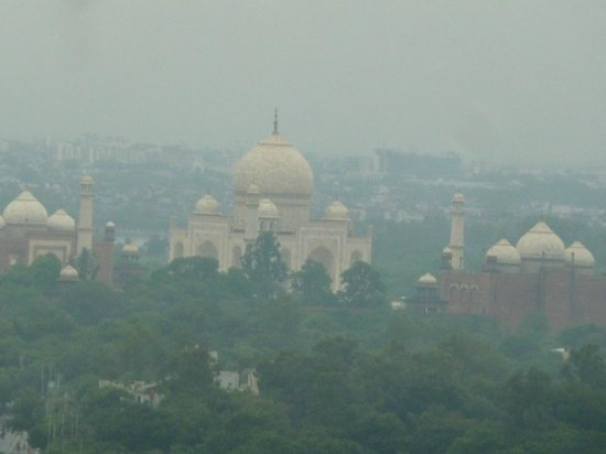 Taj from the Air Safari Balloon