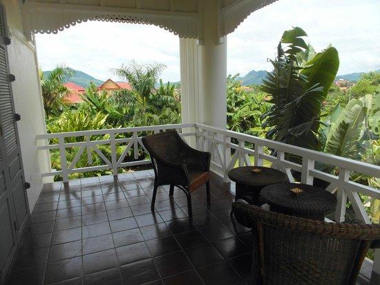 The Luang Say Residence: Balkon