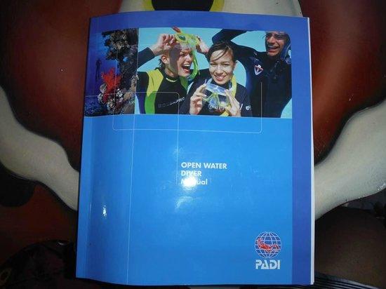 Carey Dive Center: PADI Cert Course Material