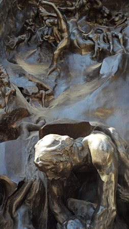 """Stanford, CA: Close-up of """"The Gates of Hell"""""""