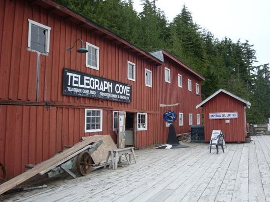 Telegraph Cove Resort : One of the old buildings