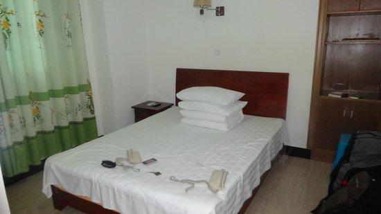 Brook Hotel: Bed