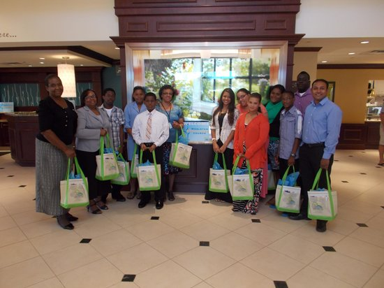 Hilton Garden Inn Dayton Beavercreek: Gift Bags Received at Hotel