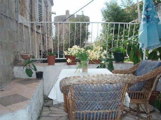 Stella Apartments: Terracce