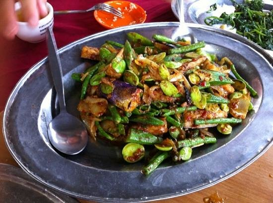 Alor Akar Restaurant : Spicy Mix Vege