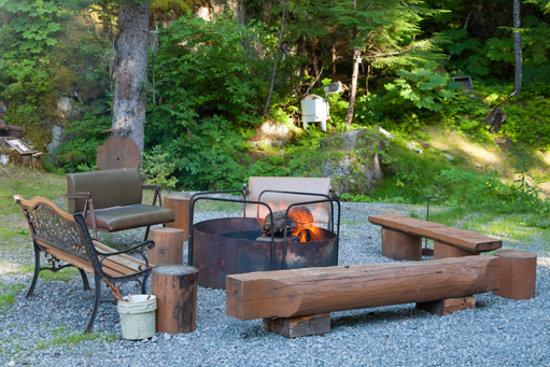 Chilkoot Trail Outpost: Fire pit