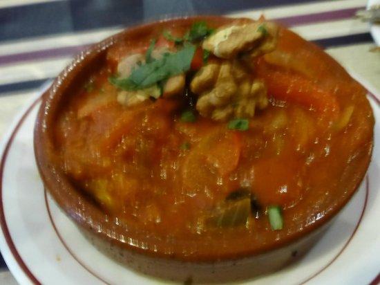 Malaga Tapas: Delicious sauce on this