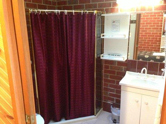 Elms Motor Inn : Bathroom