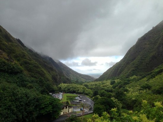 Iao Valley State Monument: View from the top