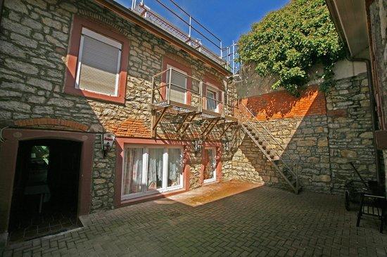 Goldener Taler: Hotel Innenhof