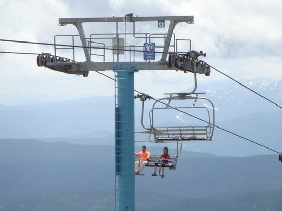 Mount Washington Alpine Resort : Chairlift