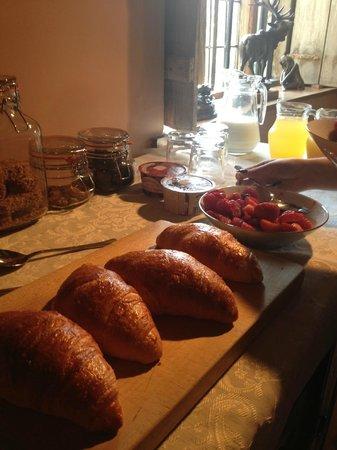 Handley Farm: Breakfast