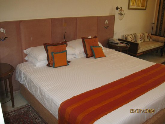 The Gateway Hotel, Agra: The beds were very comfy