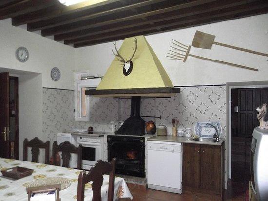 Casa Rural Barguena: Cocina