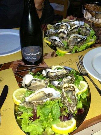 Il Rapanello : Ostriche e Champagne Rosè