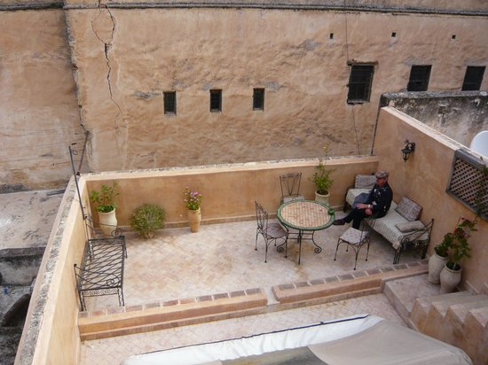 Dar Houdou Guest House: Part of rooftop