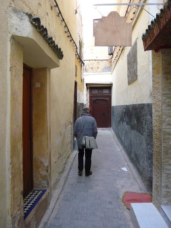 Dar Houdou Guest House: Laneway to the main street