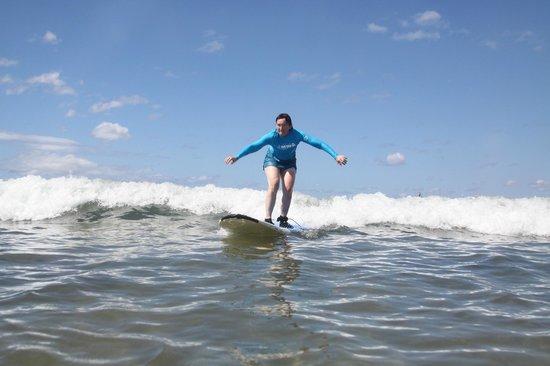 Maui Waveriders: Me up on the board