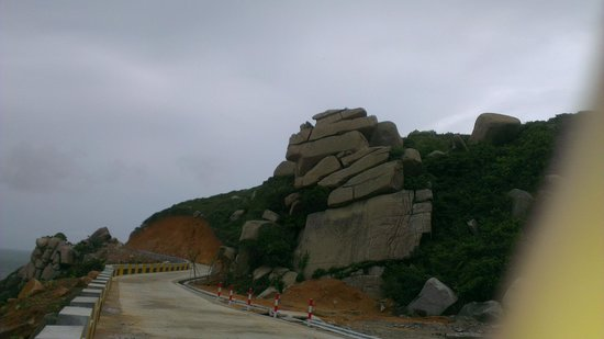 Dong'ao Island: Rock