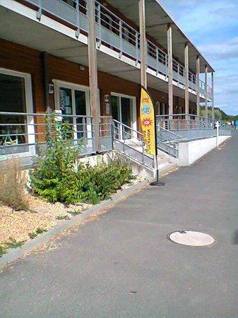 Residence Detente mmv Mont Saint-Michel Le Domaine du Mont: entrée de l'hôtel