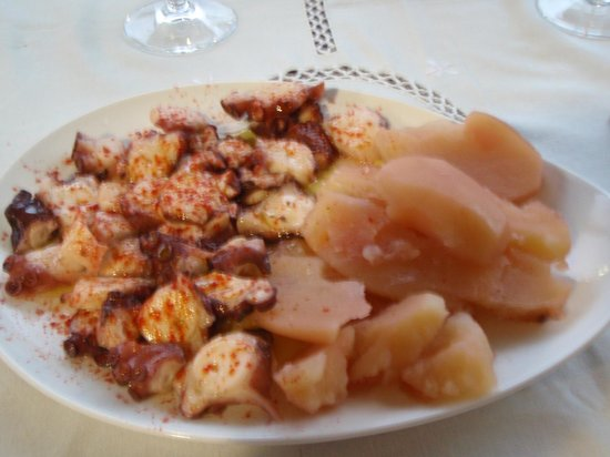 Casa do Mudo: Incontournable pulpo