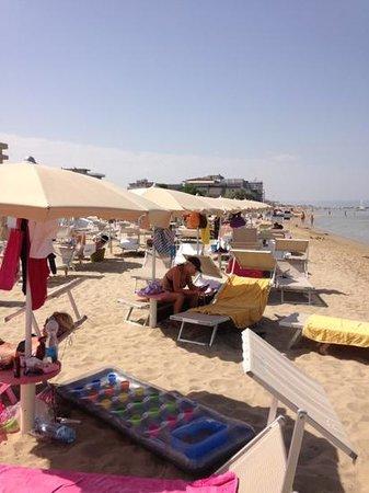Hotel Palos: spiaggia palos