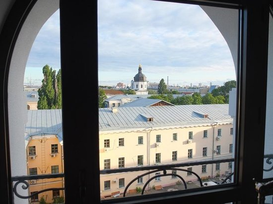 Radisson Blu Hotel, Kyiv Podil: View from the room