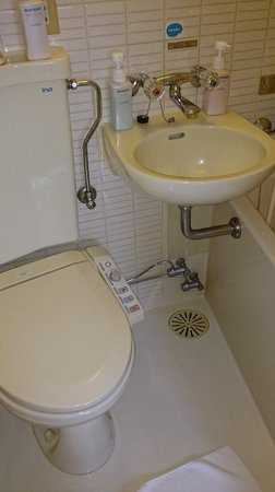 Shinjuku Washington Hotel Main: 風呂とトイレ