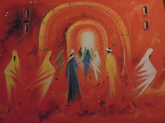 Caverne d'Ali Baba: un peintre d'essaouira très talentueux expose en ces lieux