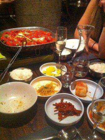 Kimchi Princess: Great food.