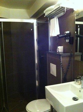 Art Hotel : big bathroom including hair dryer!