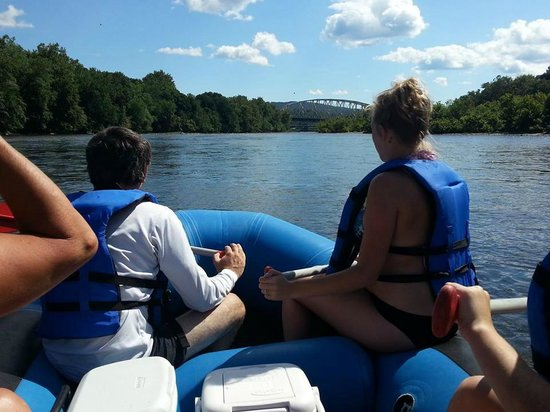 Lazy River Outpost: Heading out on the river