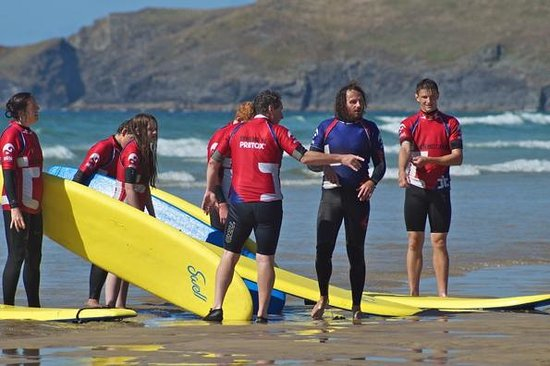 Ticket to Ride Surf School: Lesson nearly over - getting ready to pack up