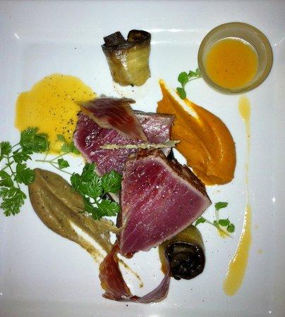Restaurant le Boisvinet : le thon jaune à découvrir sur la carte été 2013