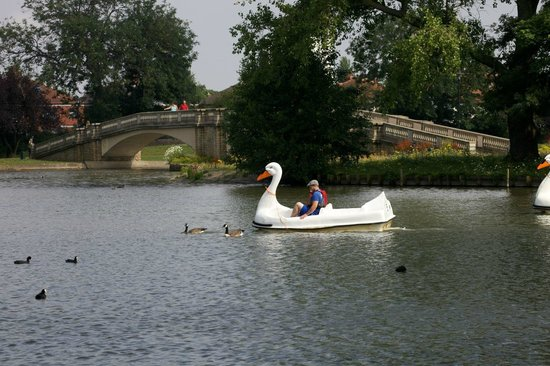 Kingston-upon-Hull, UK : Boating lake