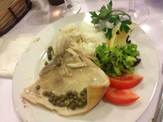 Brasserie Les Bains : une raie !! savoureuse