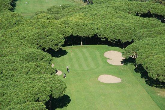 Golf Platja de Pals: vista aerea