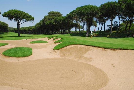 Golf Platja De Pals : hoyo 4