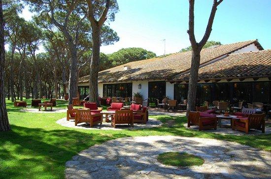 Golf Platja De Pals : terraza casa club