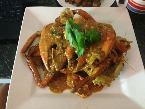 Nasi n Mee: crab :)