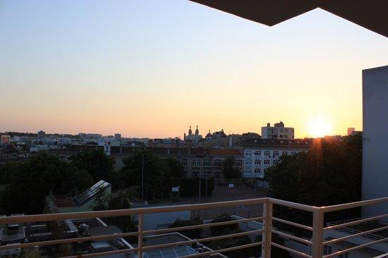 Best Western Amiral Hotel: odaların manzarası
