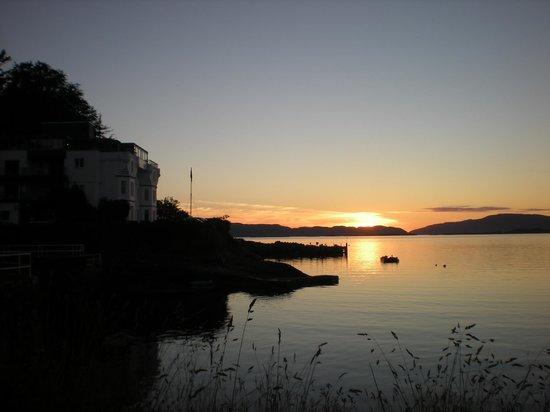Crinan Hotel : stunning sunset