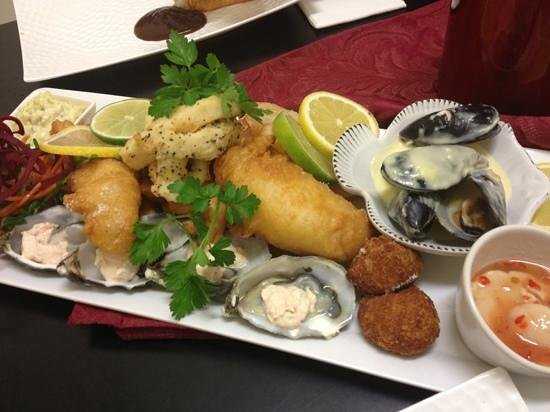 Pickled Pelican: seafood platter