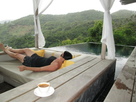 The Shore at Katathani: Sunken lounge