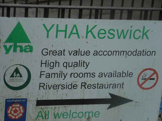 YHA Keswick: Welcome!