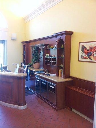 Villa Aretusi : Reception.